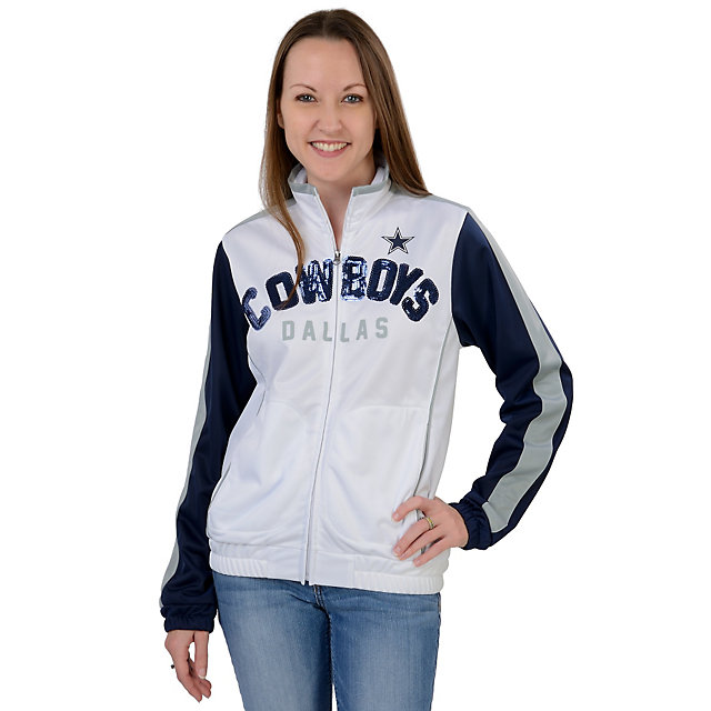 Dallas Cowboys Womens Sideline Track Jacket