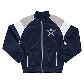 Dallas Cowboys Youth Mesh Overlay Track Jacket