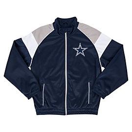 Dallas Cowboys Youth Mesh Overlay Track Jacket