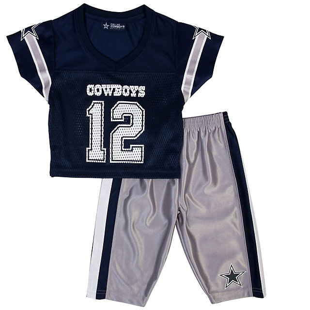 Dallas Cowboys Toddler Pace Jersey Set