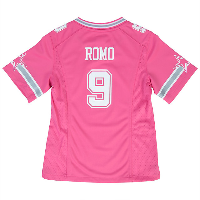 Dallas Cowboys Girls Tony Romo #9 Replica Jersey