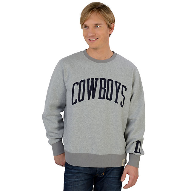 Dallas Cowboys Lancaster Crew Fleece