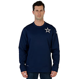 Dallas Cowboys Nike KO Chain Fleece Crew