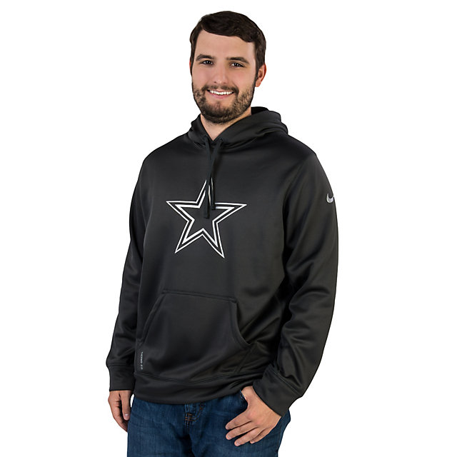 Dallas Cowboys Nike Platinum Pullover Hoody