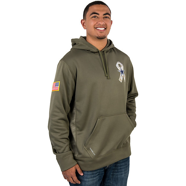 Dallas Cowboys Nike Salute to Service KO Hoody