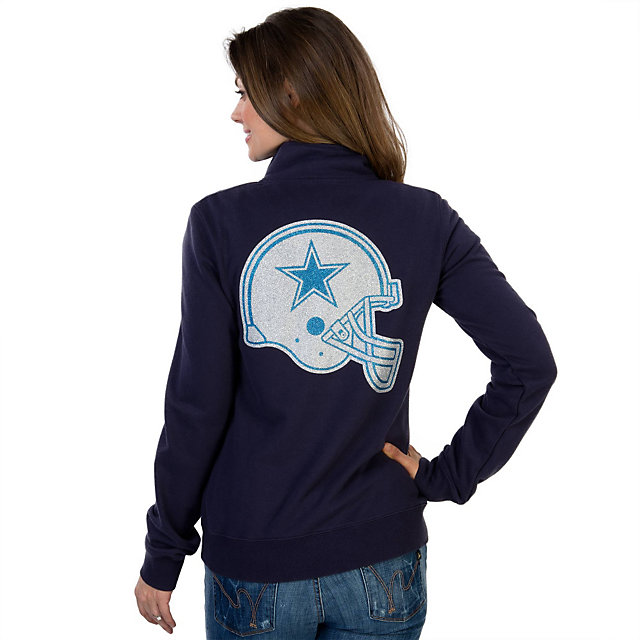 Dallas Cowboys Womens Haraby 1/4 Zip Fleece