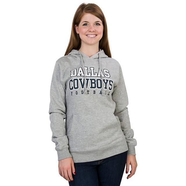 Dallas Cowboys Practice Glitter Fleece Hoody