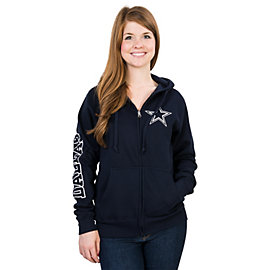 Dallas Cowboys Stand Up Full Zip Hoody