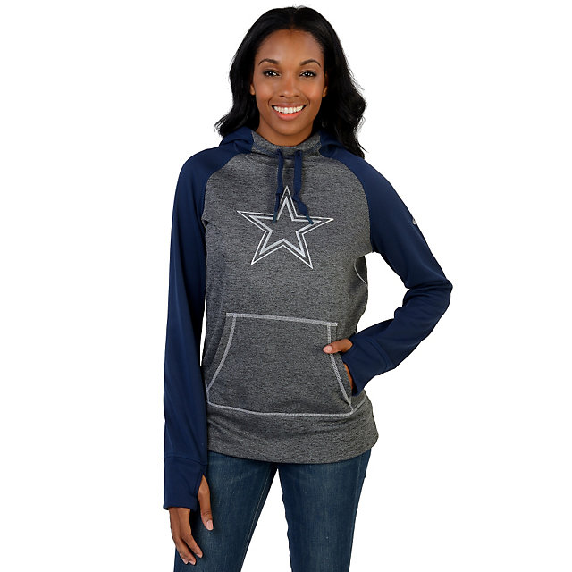 Dallas Cowboys Nike Womens Platinum All Time Hoody