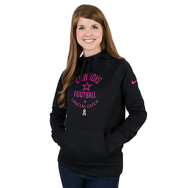 Dallas Cowboys BCA Nike Womens Platinum Hoody