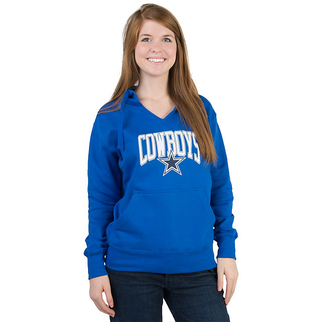 Dallas Cowboys Womens Wildcard Fleece Hoody