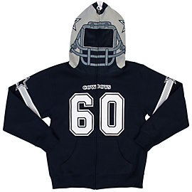 Dallas Cowboys Youth Porter Mask Hoody