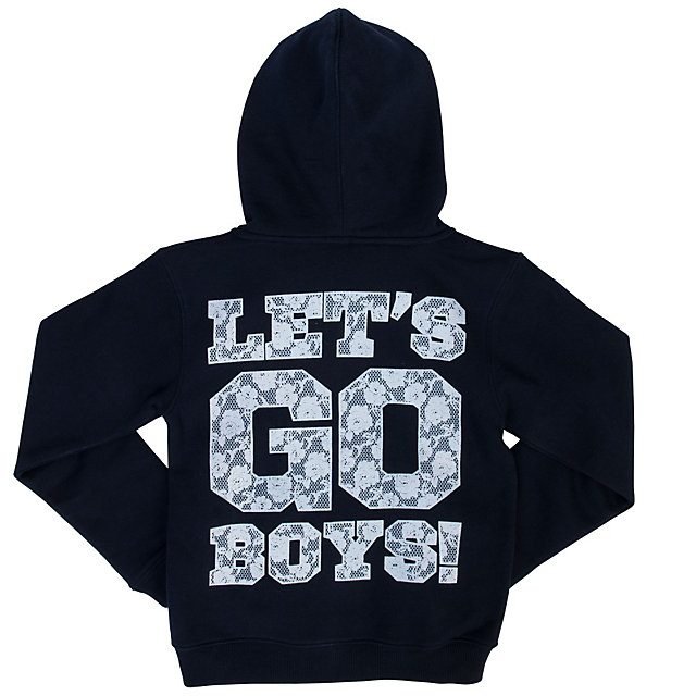 Dallas Cowboys Girls Meadowhill Full Zip Hoody