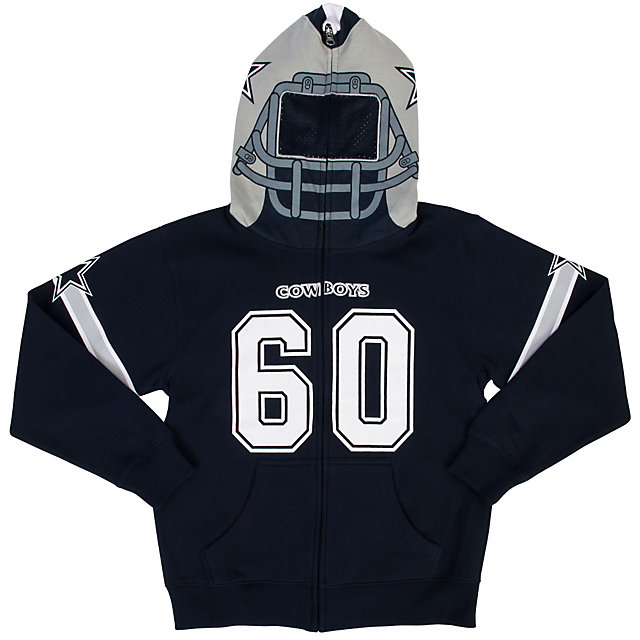 Dallas Cowboys Kids Porter Mask Hoody