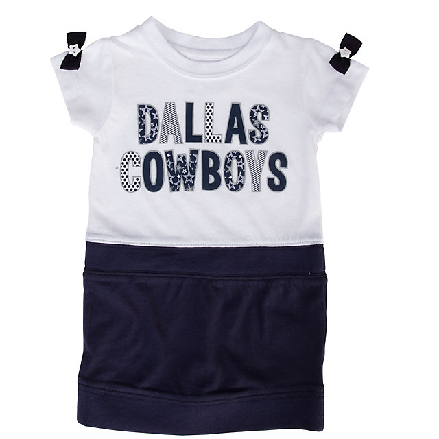 Dallas Cowboys Infant Ivy Dress