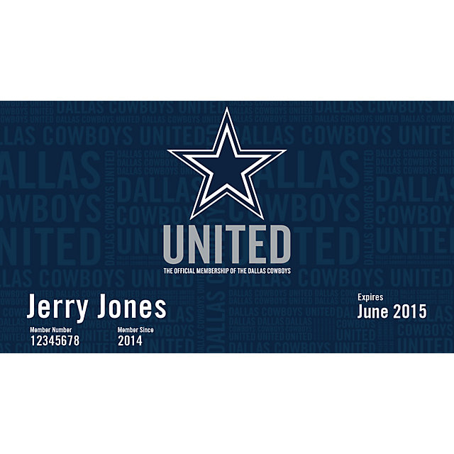 Dallas Cowboys United - Preferred Membership