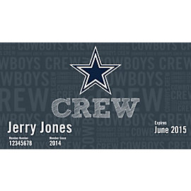 Dallas Cowboys Crew - Youth Membership