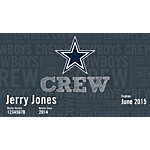 Dallas Cowboys Crew - MVP Membership