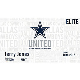 Dallas Cowboys United-Elite Membership
