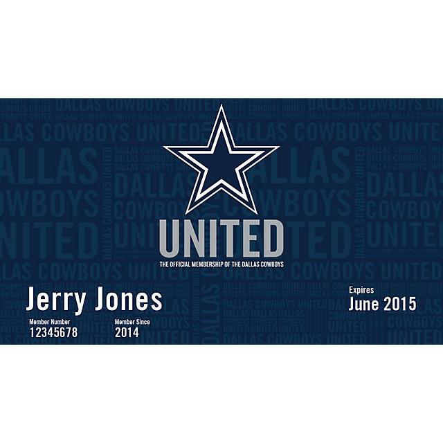 Dallas Cowboys United-Preferred Renewal Pack
