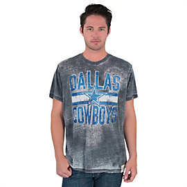 Dallas Cowboys Mens Wilson Burnout Tee