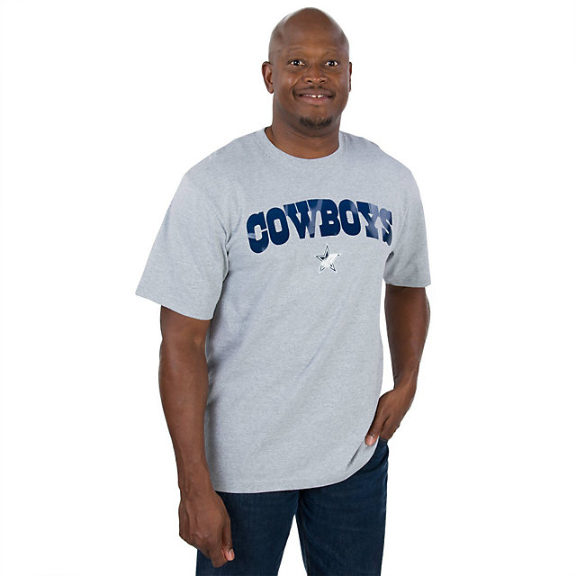 Dallas Cowboys Fibrous Wordmark Tee