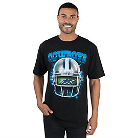 Dallas Cowboys Helmet Vision Tee