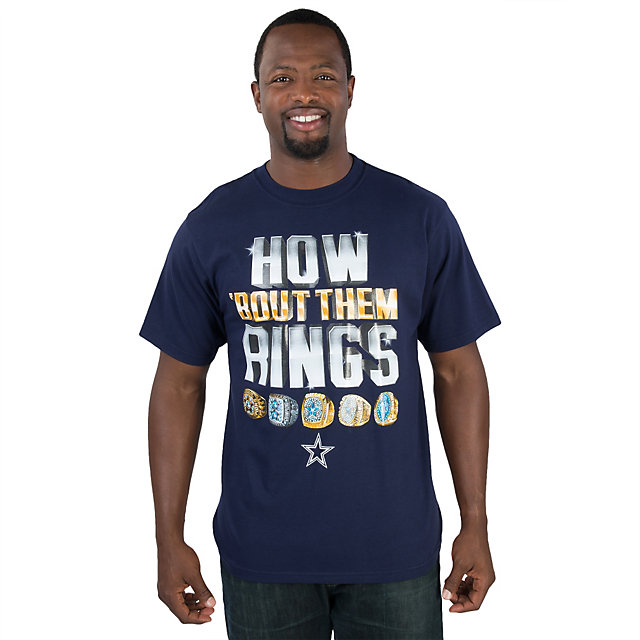 Dallas Cowboys How Bout Them Rings Tee