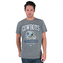 Dallas Cowboys Helmet Jack Tee