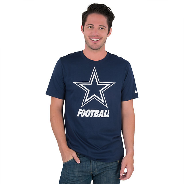 Dallas Cowboys Nike Facility Tee | Short Sleeve | T-Shirts | Mens ...