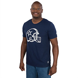 Dallas Cowboys Nike Throwback Helmet Tee
