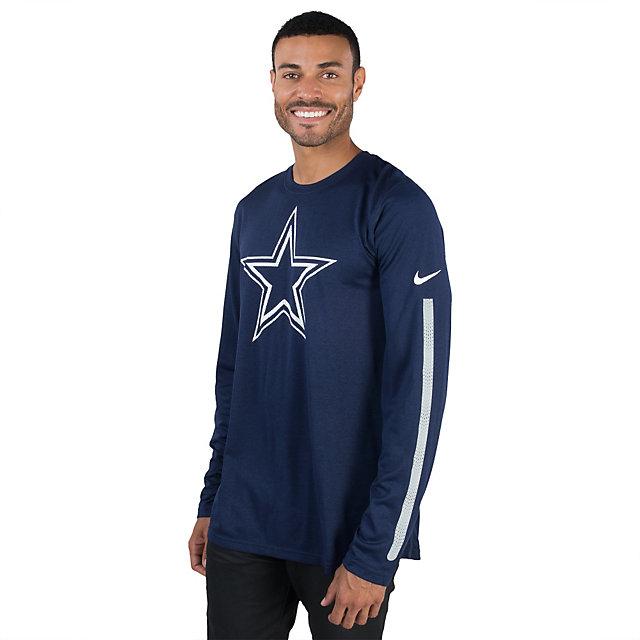 Dallas Cowboys Nike Legend Long Sleeve Logo Tee