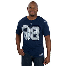 Dallas Cowboys Nike New Day Dez Bryant #88 Name and Number Tee