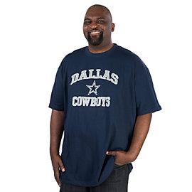 Dallas Cowboys Big and Tall Home Tee