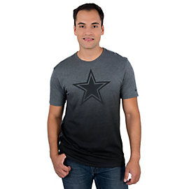 Dallas Cowboys Nike Gridiron Grey Triblend Tee