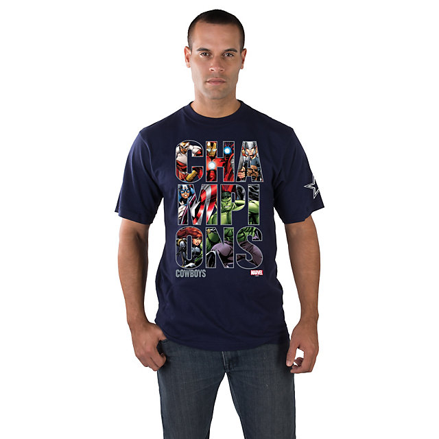 Dallas Cowboys MARVEL Champions Tee