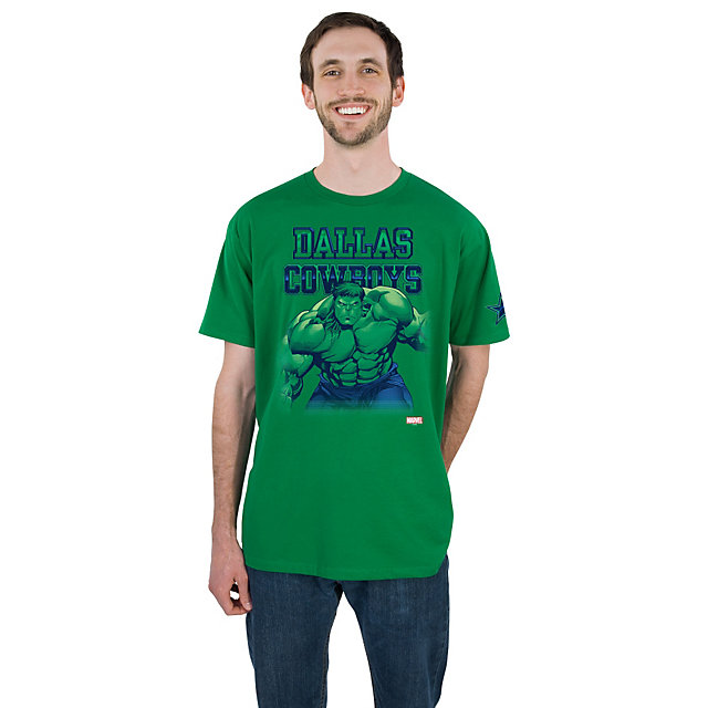 Dallas Cowboys MARVEL Hulk Fearless Tee