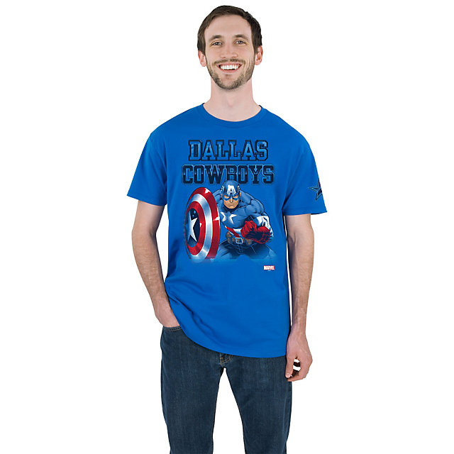 Dallas Cowboys MARVEL Captain Fearless Tee