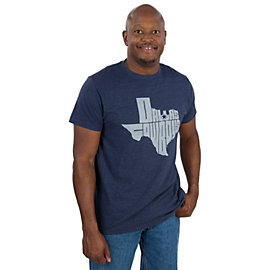 Dallas Cowboys Texas Shaped Tee