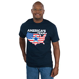 Dallas Cowboys Mens USA Patriotic Tee