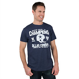 Dallas Cowboys Super Bowl XII Champs '78 Tee