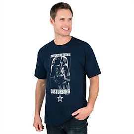 Dallas Cowboys Star Wars Lack of Faith Tee
