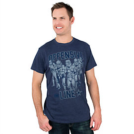 Dallas Cowboys Star Wars Offensive Line Tee