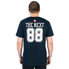 Dallas Cowboys Salvation Army The Next 88 Tee