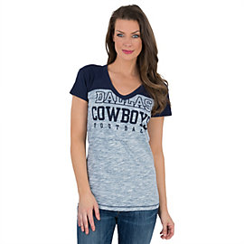 Dallas Cowboys Womens Petrolia Slub Tee