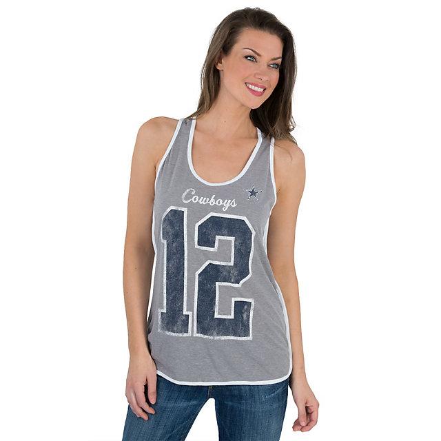 Dallas Cowboys Womens Thorndale Tank