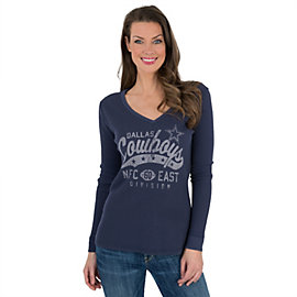 Dallas Cowboys Women's Westlake Thermal Tee