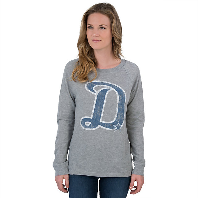 Dallas Cowboys Womens Alba Crew Tee