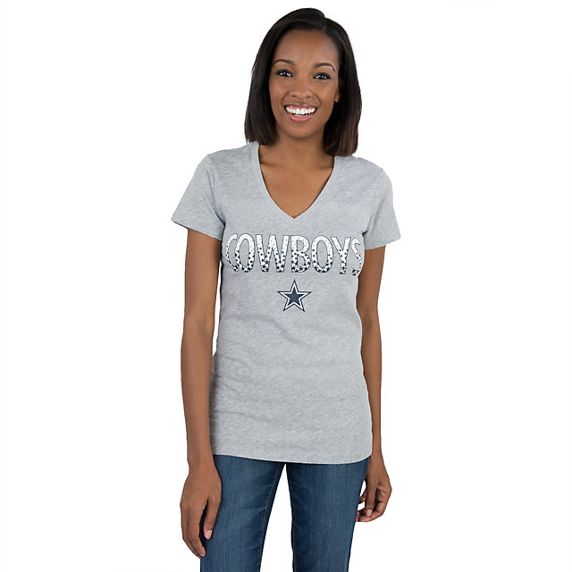 Dallas Cowboys Radiant V-Neck Tee
