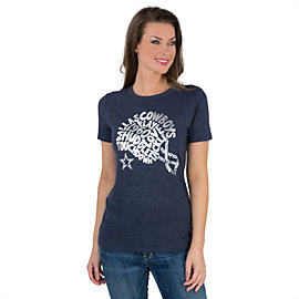 Dallas Cowboys Charm Crew Neck Tee